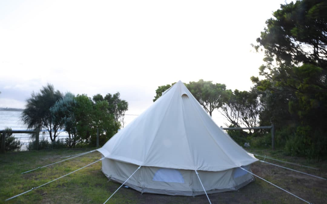 Lisa Eats World goes glamping in Barwon Heads
