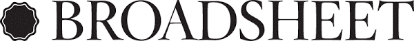 Image shows Broadsheet logo as we have been featured in this publication