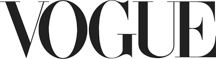 Image shows Vogue logo as we have been featured in this publication
